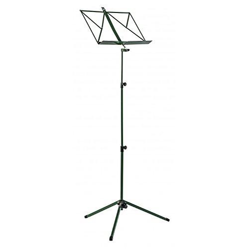Proel rsm320gn - leggio musicale professionale per spartiti, inclinabile e ripiegabile, verde (rsm320gn)