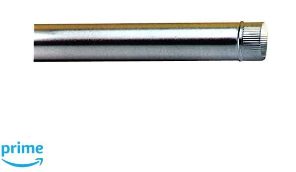 150/mm verzinkt Wolfpack 22011131 Abdeckung f/ür Ofenrohr
