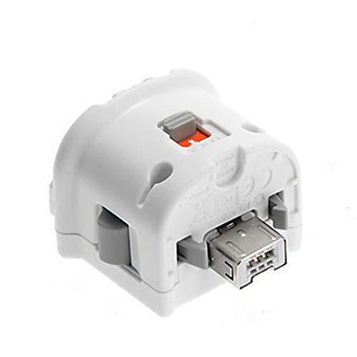 guoxuEE Motion Plus Adapter Sensorkonsole Fernbedienung Wireless Wiimote Controller-Weiß