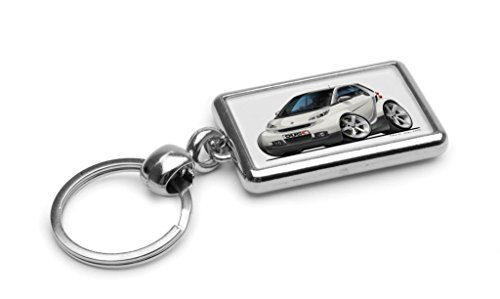wickedartz-cartoon-car-smart-fortwo-white-premium-metal-key-ring
