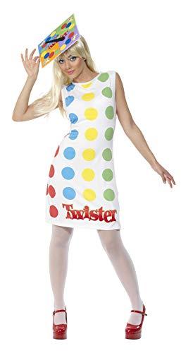 Smiffys - Twister Partyspiel Twisterkostüm Gesellschaftsspiel Kostüm Mini ()