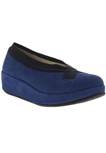 FLY London Bobi Damen Ballerinas Blau