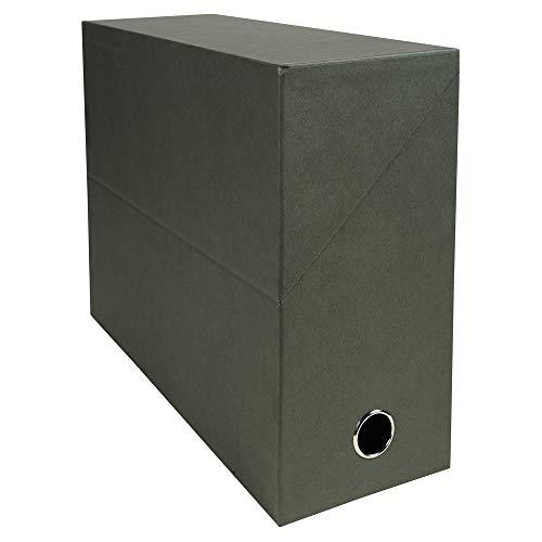 Exacompta 83143E - Caja archivar documentos. 12 cm