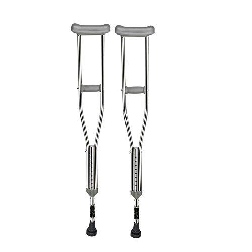 crutch Medizinische Achselkrücken für ältere Menschen mit Behinderung. Leichte, rutschfeste Gehstockkrücke