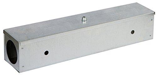 Kerbl 299633 Köderstation Blocbox Metall, 40 cm