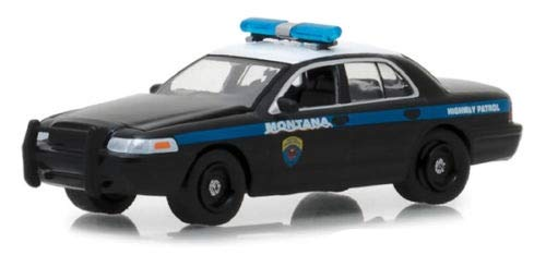Greenlight 2001 Ford Crown Victoria Police - Montana Highway Patrol 1:64 (Ford Police 1 64)