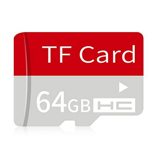 Preisvergleich Produktbild LouiseEvel215 Ultra High Speed Micro SDHC Klasse 6 TF Speicherkarte mit Adapter für Smartphones für Tablets PC