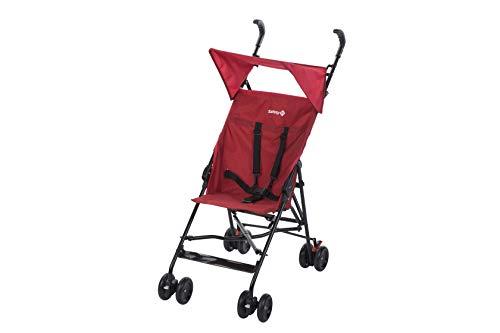Safety 1st Peps Passeggino  con Capottina Unisex Bambini, Rosso (Ribbon Red Chic)