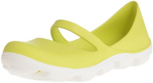 Crocs Duet Sport, Mary Jane donna Multicolore (Citrus/White)