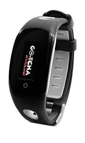 Go-Tcha Evolve LED-Touch Wristband Watch For Pokemon Go with Auto Catch and Auto Spin - Black/Grey PC [Edizione: Regno Unito]