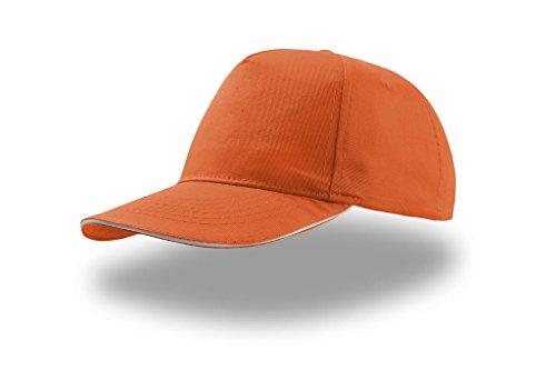 Atlantis start five sandwich cap Orange - Orange