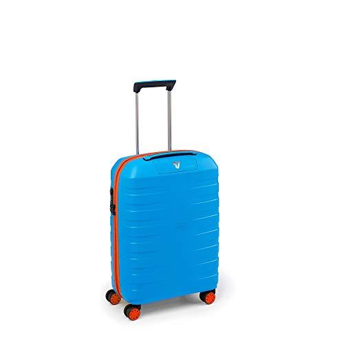 Roncato Trolley Cabina 4r Box Young Valigia, 55 cm, 41 liters, Blu (Azul)