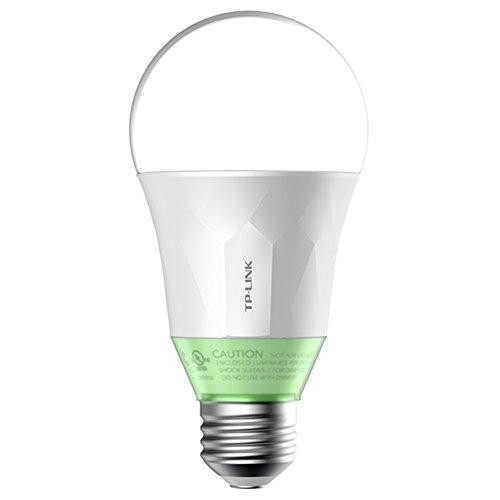 TP-Link Smart LED Wi-Fi E27 Glühbirne, kompatibel zu Amazon Alexa, dimmbar, kein Hub notwendig, 10W (LB110) [Energieklasse A+]