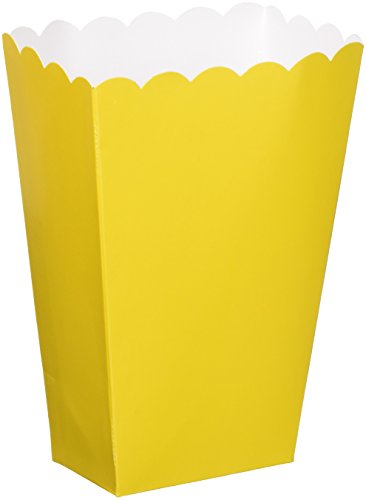 TradeMart Inc. Amscan Fun Small Popcorn (5 Piece), 5 1/4