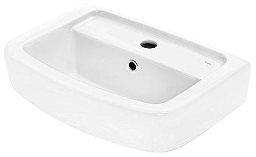 Cornat Handwaschbecken ONDO 350 mm, weiß / Waschtisch / Hängewaschbecken / Waschplatz / Waschschale / Badezimmer / HWBONDCBD4500