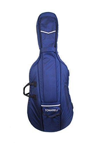 Tonareli Designer Cello GigBag-Marineblau-4/4 (Soft Cello Case)