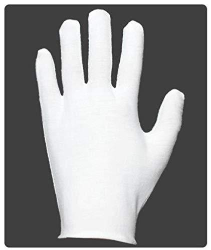 GBSTA Hochzeit Handschuhe 6Pairs Herren Weiße Handschuhe Frauen Sauber Schneewittchen Baumwollhandschuhe Kleinen Dicken Stoff Gardening Home Nylon Light (Herr Sauber Kostüm)