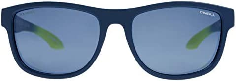 نظارة شمسية بولارايزد للجنسين من O'Neill - أزرق داكن/أزرق - ONCOAST-106P- مقاس 53-18-143 ملم، وايفيرار