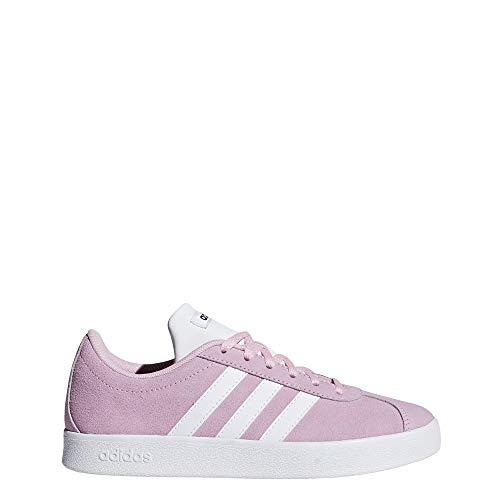 Adidas Vl Court 2.0 K, Zapatillas de deporte Unisex niños, Multicolor Rosaut/Ftwbla/Negbás 000...