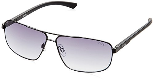 IDEE Rectangular Sunglasses (Black) (S1853C16212141) image