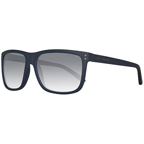 GANT Herren Ga7081 5891C Sonnenbrille, Blau, 58