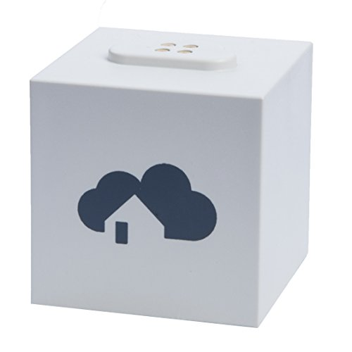 Preisvergleich Produktbild homee Brain Cube – modulare Smart Home Zentrale (kompatibel mit: HomeMatic, netatmo, Nuki, AVM FRITZ!, Belkin WeMo, ...) erweiterbar mit Z-Wave, Zigbee, EnOcean [Amazon Alexa kompatibel]