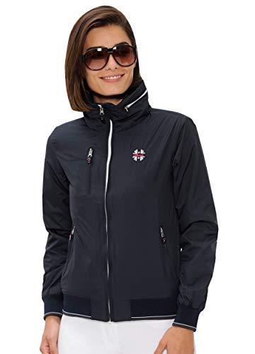 SPOOKS Damen Jacke, Kapuzenjacke, Damenjacke, Herbstjacke - Cleo Jacket Navy XL