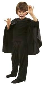 César D333-003 - Capa en Color Negro, Talla única hasta 140 cm