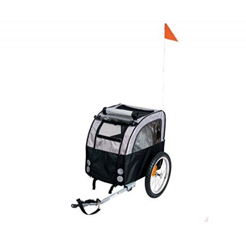 TEFLON® Hunde Buggy Hundebuggy Fahrrad Anhänger Fahrradanhänger Trolley Tasche Bis 20 KG
