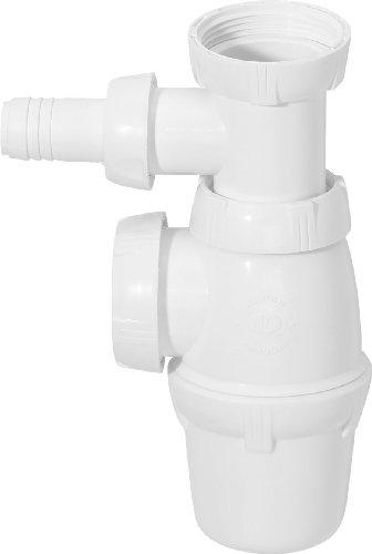 Wirquin SP3223 Siphon d'évier avec prise Machine à laver