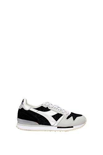 Gelb Heritage Sneakers Schwarz Wildleder 2011705890135014 Damen Diadora ZAXvqOq