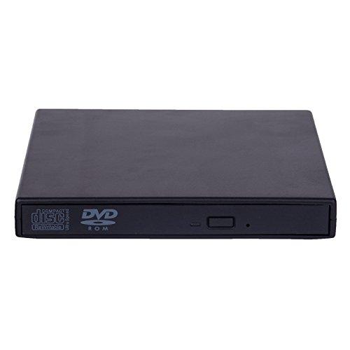Esterno USB 2.0DVD ROM Drive masterizzatore CD RW WRITER Player per netbook/PC/laptop - Compatto Suv