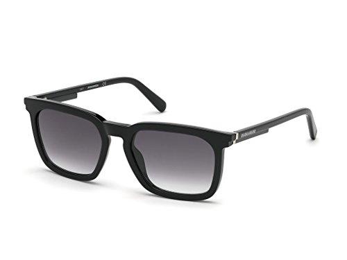 45add96b67 DSQUARED2 Hombre MASON Gafas de sol, Negro (Shiny Black/Smoke Mirror),
