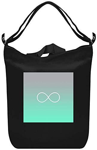 Tiffany verblassen Infinity Symbol - Tiffany Fade Infinity Symbol Canvas Day Bag Custom Printed Handbag Fashion Accessory For Men & Women