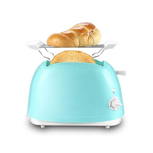 WCJ Haushalt Mini automatische Brotmaschine rutschfeste Multifunktions Frühstück Toast Automatische Blau 370 X 225 X 315 Mm