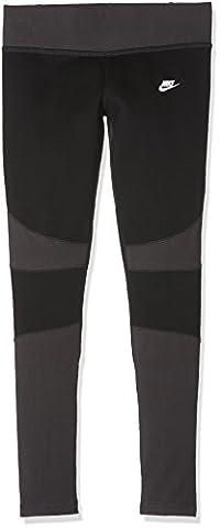 NIKE Tech polaire Legging fille M noir/anthracite