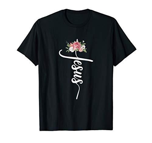 Gott Religion Glaube Kirche Jesus Christus Kreuz Geschenk T-Shirt