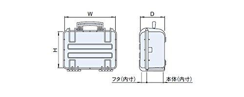 Explorer Multibox Case Modell 1908, schwarz, EC1908B - 4
