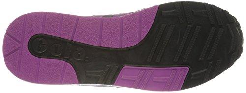Gola - Samurai, Sneakers da donna Nero (Black/Graphite/Berry)