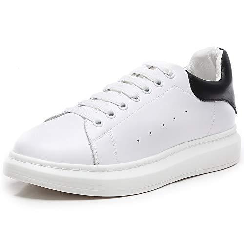 YORWOR Scarpe da Ginnastica Basse Uomo Sneaker Donna Platform Outdoor Suola  Comoda con Piattaforma Leggera Unisex e3519110209