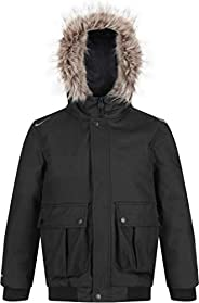 Regatta Balzo Waterproof Taped Seams Insulated Lined Hooded Jacket With Reflective Trim - Chaqueta Unisex niño