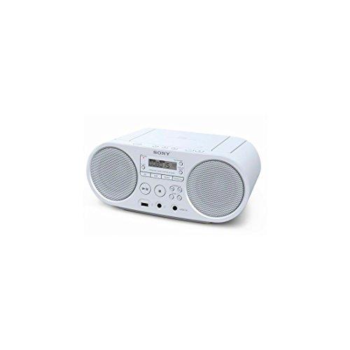 Oferta de Sony ZSPS50W - Radio (CD, MP3) color blanco