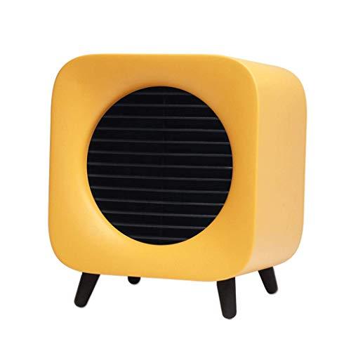 ZNND Calentador 700w Mini Eléctrico Ventilador Casa