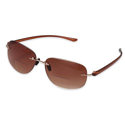 TOPSTARONLINE bifocal Gradienten Sonnenbrille Leser mit Verlaufsgläser für Outdoor bifocal...