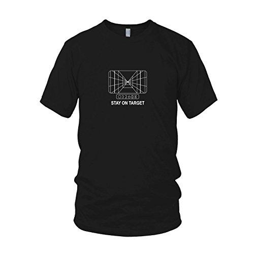 Herren T-Shirt, Größe: L, Farbe: schwarz (Prinzessin Leia Jabba The Hutt-kostüm)