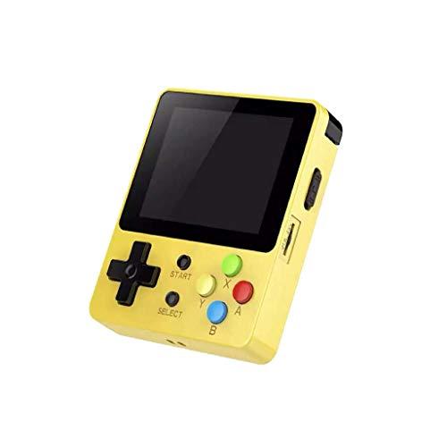 2019 Neueste!!! Überraschungsgeschenk für Kinder Freund, LDK Game Screen Spielekonsole, Handheld Mini Game Console Retro Mini Family TV Games Maschinen für Kids Geschen Toys (Gelb)