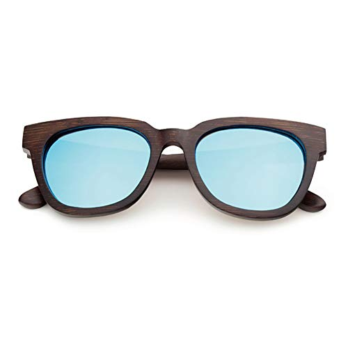 TIANZly Modedesign Brille Bambus Sonnenbrille Retro Holz handgefertigten Rahmen polarisierte Brille