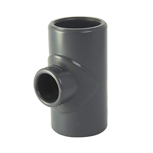 Ezfitt T-Stück, reduziert, 90 Grad, F/F, PVC, zum Kleben