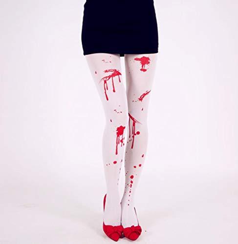 Drreny Blutige Strumpfhosen Halloween Ghost Festival Plasma Strumpfhosen Kostüm Requisiten 2