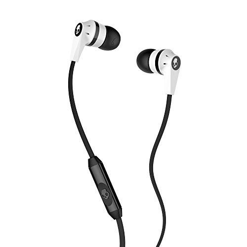Skullcandy SCS2IKFY-074 Ink'd 2.0 In-Ohr-Kopfhörer mit Mikrofon wei/schwarz